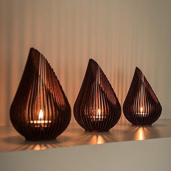candle holder Growdrop Glowbus